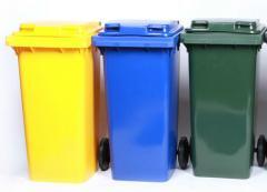 Контейнери сміттєві для ТБО (120 л)