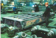 The cart calcination for production of pellets Is