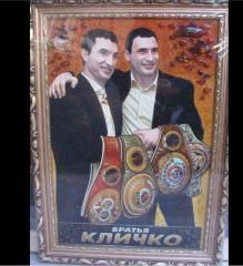 Klitschko the first fight, Pictures from amber