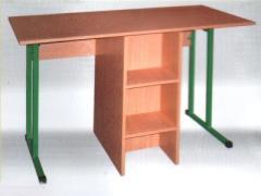 Стол лабораторный для кабинета химии без полки
