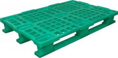 Plastic pallets 1200х800 continuous, perforated,