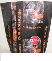 Бумажный мешок для древесного угля 1,5 кг