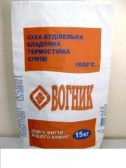 Бумажный мешок для строительных смесей