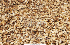 Pellets from wood waste