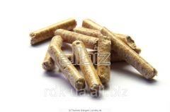 Pellets from natural raw materials