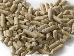 Pellets from oats waste