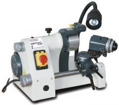 The machine for sharpening of mills, drills,