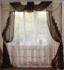 Classic's set Organza 2,5m, curtain tulle
