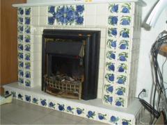 Manual list on tiles, tiles, souvenirs