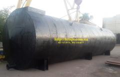The tank for fuels and lubricants of 100 CBM