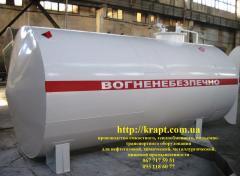 Резервуар для нафтопродуктів 20 м.куб