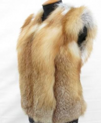 Fur vest from a fox.