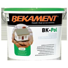 Краска для интерьера BEKAMENT, BK-Pol 1,5 кг.