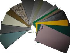 Composite materials: carbon fabrics, kevlar, fiber