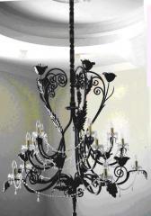 Кованые люстры подвесные Херсон