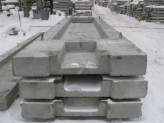 Non-standard concrete goods