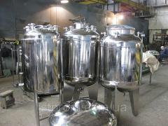 Tanks from stainless steel food, GMP, tanks food
