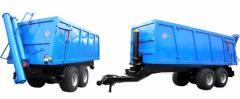 Semi-trailers tractor dumping NTS-5, NTS-5-01,