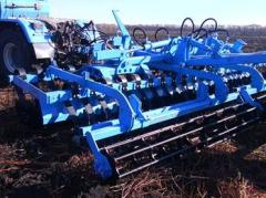 Disk hoeing plow of DLM-5