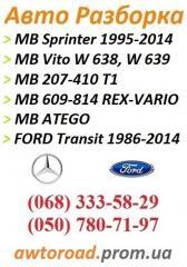 Накладки порога Мерседес Спринтер 901-905, 906