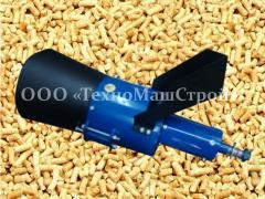 Compound feed granulator GKM-260 pellet (working
