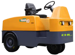 The electric CHL Tractor for transportation of