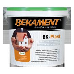Штукатурка акриловая  BEKAMENT, BK-Plast (База А)