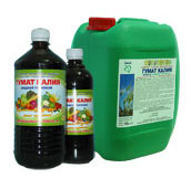 Potassium humate liquid peat proizv. Russia