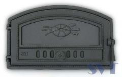 Door of the grain SVT 421 furnace