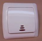 Выключатель с подсветкой одноклавишный