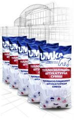 Heat-insulating mix for UP-1TM UMKA floor