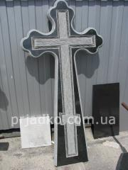 Production of crosses from white marble
