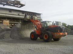 Производство щебню и отсеву для строительных