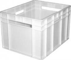 Box plastic 433х347х283 continuous / perforated