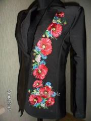 Jacket female (embroidered)