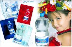 Bottled water for expor