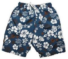УФ-защитные пляжные шорты Banz, синие-мокко