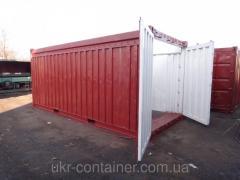 20 футовый контейнер с открытым верхом