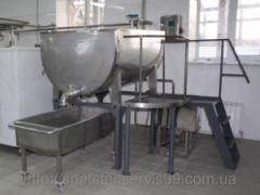 Bathtub cottage cheese BK-2,5