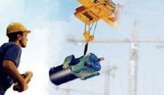 Система дистанционного радиоуправления кранами