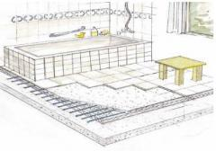 System - a heat-insulated floor