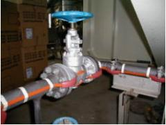 Heating systems of the EKCOH pipelines of Exxon of