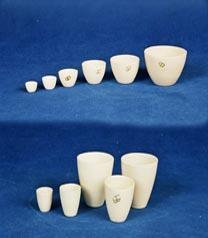 Laboratory glassware from porcelain Kiev