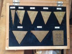 Set of angular measures