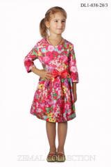 Платье DL1-038 детское трикотажное