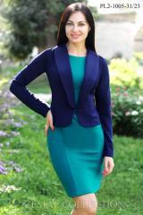Dress + PL2-1005 Jacket women's suit jersey