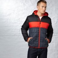 Куртка мужская спортивная Hooded Padded Jacket