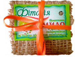 Handwork soap with oil of grape seeds.