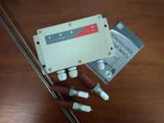 Sensors relays of the ROS-301 level