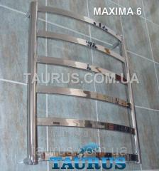 The white Maxima heated towel rail 6/450 of